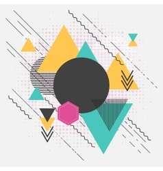 Abstract geometric modern background with vector