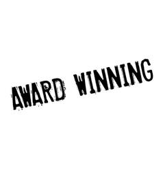 Award Winning rubber stamp vector