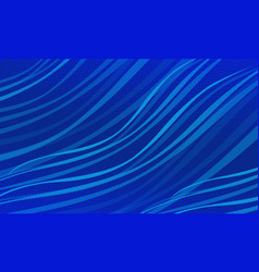 blue wave christmas abstract background christmas vector image