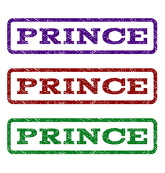prince watermark stamp vector image