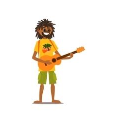 Rastafarian vector