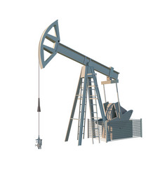 petroleum rig oil drill isolated image vector image