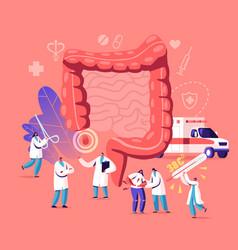 Appendix pain appendicitis disease concept vector