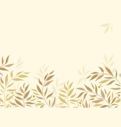 autumn nature background vector image
