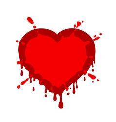Heart blob vector