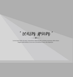 modern background design with gray color abstract vector image