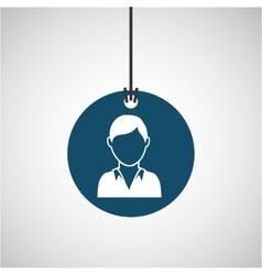 Technical service icon vector image
