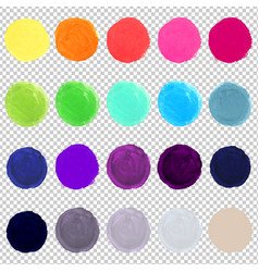 Watercolor blots vector