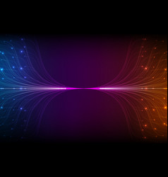 abstract violet lines mesh vector image vector image