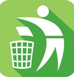 Recycle Icon vector image vector image
