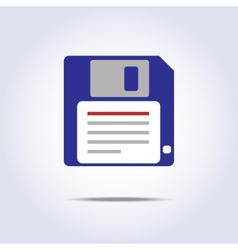Save diskette icon vector image