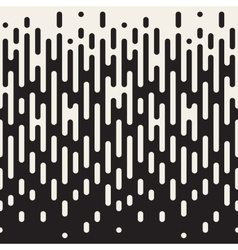 Seamless Rounded Lines Halftone Transition vector image