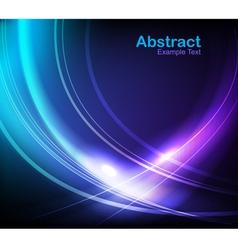elegant waves vector image