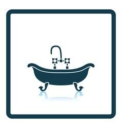 Bathtub icon vector