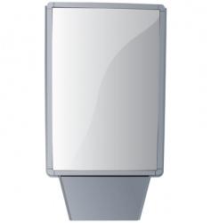 billboard stand vector image