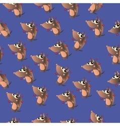 cute cartoon armadillo vector image