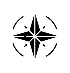 Cycling lever black icon concept vector
