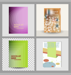 Design cover book brochure layout flyer poster vector