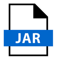 File name extension jar type vector