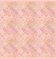 geometrical diagonal square pattern - tiled vector image
