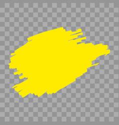 Highlighter marker strokes vector