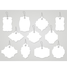 labels and tags vector image