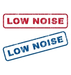Low Noise Rubber Stamps vector