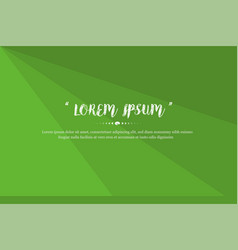modern background design with green color abstract vector image