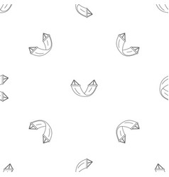 rest hammock pattern seamless vector image