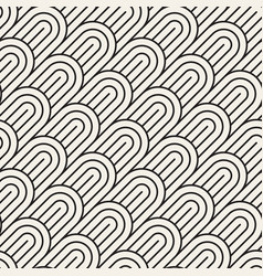 seamless pattern concentric bold semi vector image