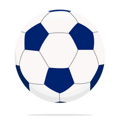 Soccer ball icon sport equipment concept vector