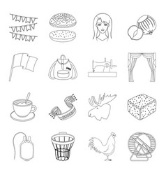 Sport education sewing and other web icon in vector