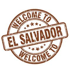 Welcome to el salvador vector