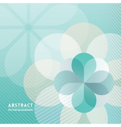 Petal shape Abstract Background vector image