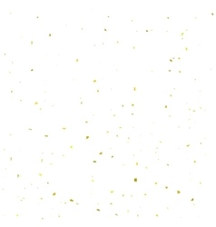 Yellow Confetti Background vector image vector image