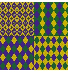 Mardy gras backgrounds vector image