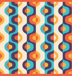 Background mid-century modern art abstract vector