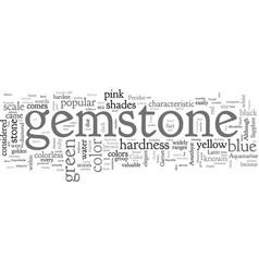 Birthday gemstones vector