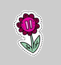 Gender symbol doodle vector