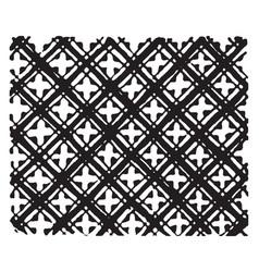 Hawaiian cloth detail of hawaiian stamped cloth vector