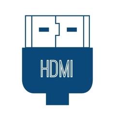 Hdmi plug connection vector
