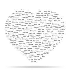 heart with the words vector image