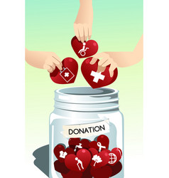 Making donation vector