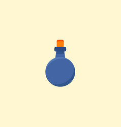 mana potion icon flat element vector image