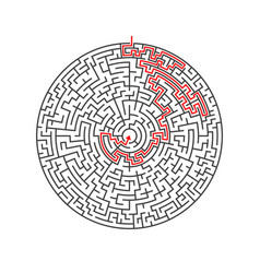 Maze labyrinth greek puzzle challenge vector