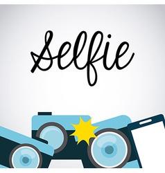 Photo selfie vector