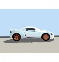 sport car illustration vector image