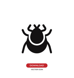 tick icon vector image