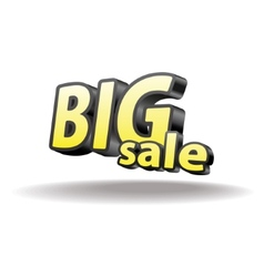 Volumetric letters big sale Isolated Black and vector