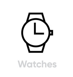 watche for hand icon vector image